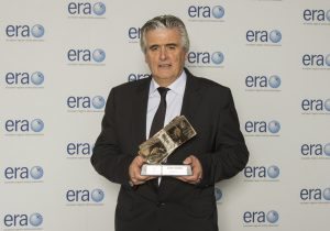 CityJet Executive Chairman Pat Byrne with the award
