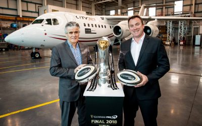 PRO14 Rugby names CityJet as the Official Airline Guinness Finals