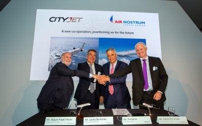 CityJet and Air Nostrum to create European regional air group